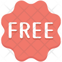 Free Badge Offer Icon