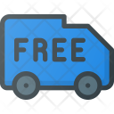 Free Truck Shipping Icon