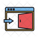 Free Access Open Content Open Website Access Icon