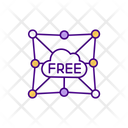 Free Cloud Usage Free Cloud Connection Computing Icon