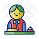 Free Concierge Service Freeservice Bell Boy Icon