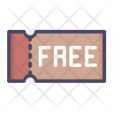 Free Shopping Ticket Icon