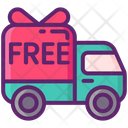 Free Shipping Free Delivery Shipping Truk Icon