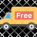 Free Delivery Van Icon