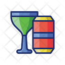 Free Drinks Alcohol Beverage Icon