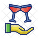 Free Event Wine Glass Icon