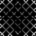 Free Fall Drop Icon