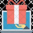 Free Gift Laptop Icon