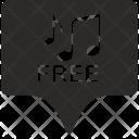 Free Music Tag Icon