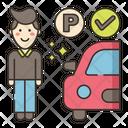Free Self Parking Car Free Icon
