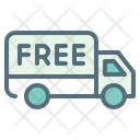 Free Shipping Delivery Courier Icon