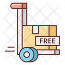 Free Shipping Shipping Trolley Shipping Cart Icon
