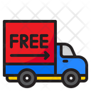 Free Shipping Delivery Truck Delivery Icon