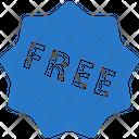 Free Sticker Offer Icon