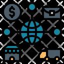 Free Trade Commerce Traffic Icon