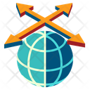 Trade Area Global Icon