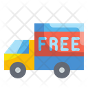 Free Truck Free Shipping Icon