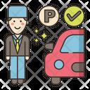 Free Valet Parking Car Free Icon