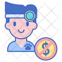 Free Veterinary Care Free Veterinary No Charges Icon