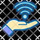 Free Wi Fi Hand Free Icon