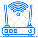 Free Wifi Wifi Router Modem Icon
