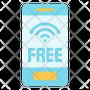 Wifi Service Mobile Icon