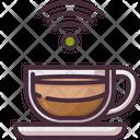 Free Wifi Wifi Signal Coffee Cup Icon