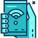 Travel Blue Smartphone Icon