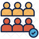 Assembly Crowd Freedom Icon