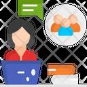 Freelance Freelancer Work Icon