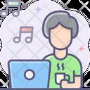 Freelance Listening Music Listening Song Icon