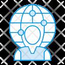 Freelancer Avatar World Icon
