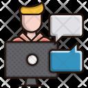 Freelancer Meeting Business Icon