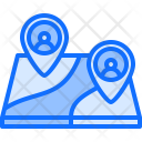 Freelancer Freelancing Map Icon