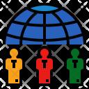Human World Relation Icon