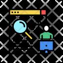 Freelancer Search Job Icon