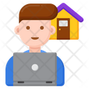 Freelancer Male Freelancing Freelancer Icon