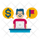 Freelancer Male Icon
