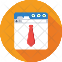 Freelancing Tie Web Icon
