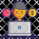 Freelancing Icon