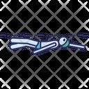 Freestyle Swim Swimmer Icon