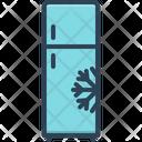 Freeze Cold Freezer Icon