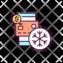 Freeze Credit Card Freeze Credit Icon