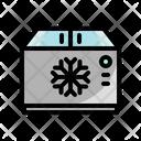 Freezer Fridge Ice Icon