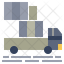 Freight Carriage Transportation Icon