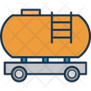 Freight Fuel Truck Gas Tanker Icon