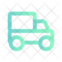 Freight Cars Truck Delivery Icon