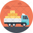Delivery Cargo Freight Icon