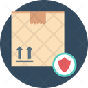 Freight Protection Delivery Box Shield Icon