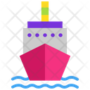 Freight Rate Boat Cruise Icon